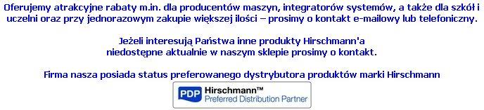 Hirschamnn preferowany partner